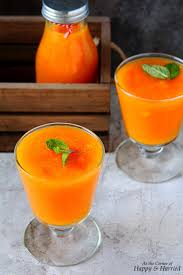 carrot strawberry u0026 orange smoothie