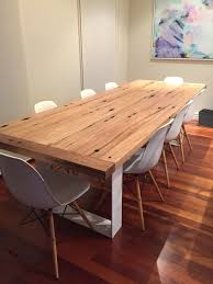 Bombora Furniture by Recycled Spotted Gum Timber Dining Table Dining Table