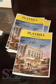 playbill wedding programs social conceptions wedding social and corporate event planning