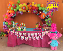 birthday ideas trolls party ideas troll party celebrations and southern