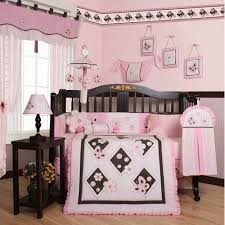 geenny pink butterfly 13 piece crib bedding set walmart com
