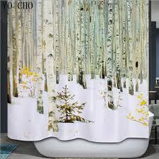 Orchid Shower Curtain Modern 3d Shower Curtains Waterproof Fabric Bath Curtain Orchid