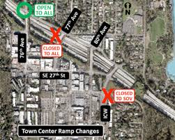 Wsdot Traffic Map I 90 Center Lanes Closed As Of June 4 For Light Rail Construction