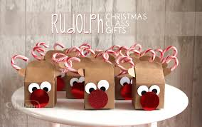 Homemade Christmas Gifts by Rudolph Christmas Class Gifts Diy Christmas Box And Gift