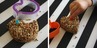 winter craft for cookie cutter bird feeders play cbc parents