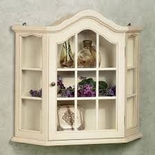 wall mounted kitchen display cabinets amelia whitewash wall curio cabinet wall curio cabinet
