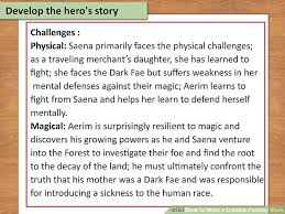 how to write a credible fantasy story with examples wikihow
