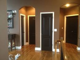 seriously thinking about doing this u2026black doors with white trim