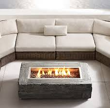 Restoration Hardware Fire Pit by Natural Gas Fire Table Crafts Home