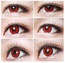 geo color nine red an a48 red contact lens contacts pinterest