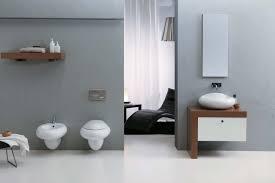 wonderful ultramodern bathroom design ideas also gray wallpaper