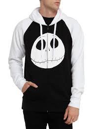 the nightmare before contrast zip hoodie