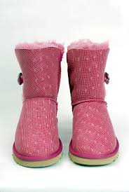 ugg womens boots pink ugg mini bailey button bling grey 2017 ugg 3d fashion