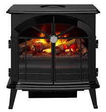 dimplex stockbridge opti myst electric fireplace stove w remote