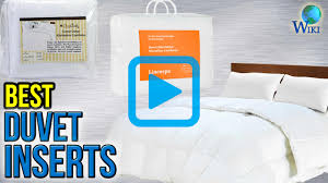 top 10 duvet inserts of 2017 video review