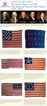 Us Flag Stripes Number Zfc National Treasures 2nd Flag Act