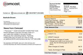 Meme Account Names - comcast apologizes after changing customer s name to asshole brown