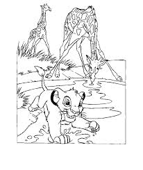 lion king coloring sheets coloring home