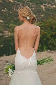 Backless Bra For Wedding Dress Beautiful Backless Wedding Dresses By Katie May