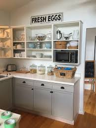 Benjamin Moore Simply White Kitchen Cabinets Cottage Kitchen The Cottage At Oak Point