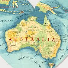 map of austrailia map of australia to print major tourist attractions maps
