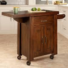 kitchen glamorous small kitchen carts on wheels kitchen island on