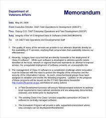 sample internal memo template samples finance department coso