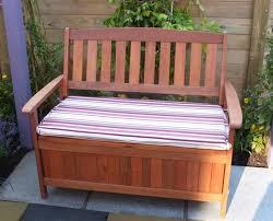 Outdoor Storage Bench Waterproof Impressive Large Outdoor Storage Bench Inside Seat Ideas Cushions