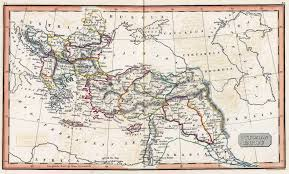 Map Of Ottoman Empire The British Empire And The Middle East Maps