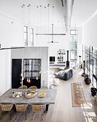 white home interiors best 25 industrial interiors ideas on loft house