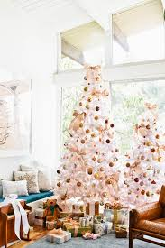 Target Commercial Christmas Tree Decorating by California Winter Wonderland Glam Emily Henderson