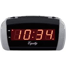 battery operated alarm clocks