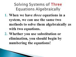 chapter 3 u2013 systems of linear equations ppt video online download