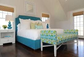 Bedroom Blue And Green Beach Cottage With Transitional Coastal Interiors Home Bunch