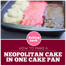 how to make a neopolitan cake in one pan good cook good cook