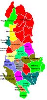 Map Of Albania Regional Stereotypes Of Albania Maps Pinterest Albania