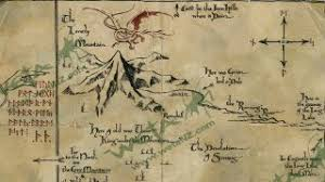 map hobbit gorgeous prop replica maps of middle earth take us through