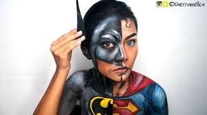 Batman Halloween Makeup by Querramellca As Batman V Superman Nyx Face Awards Indonesia 2017