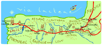 camino compostela camino pilgrimage route to santiago de compostela