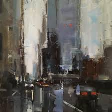artist urban and cityscape and old world paintings