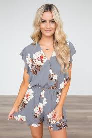 rompers and jumpsuits floral printed rompers shop magnolia boutique