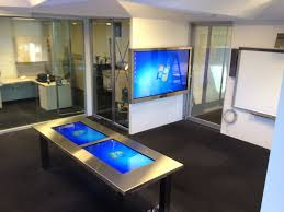 Touch Screen Conference Table Touch Screen Conference Table With Touch Screen Table