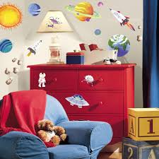 roommates outer space peel and stick wall decals walmart com