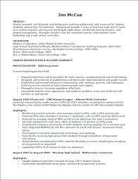 Sample Format Of Resume For Teachers Resume Higher Education Curriculum Vitae Template Resume Writers