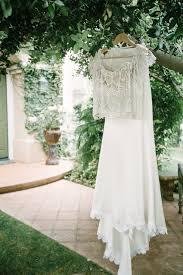 a boho backyard wedding full of romance chic vintage brides