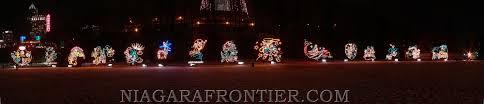 christmas lights in niagara falls ontario niagara falls panoramic views