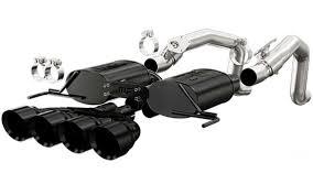 2014 corvette exhaust magnaflow black axle back exhaust 15316 for c7 corvette stingray