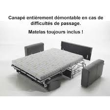 canapé convertible gain de place canapé convertible gain de place tissu 36 pas cher