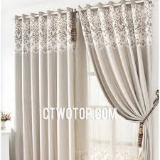 Buy Discount Curtains Custom Leaf Affordable Beige And Grey Buy Soundproof Curtains