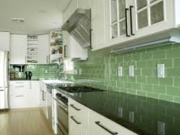 green kitchen tile backsplash green subway tile backsplash white cabinets kitchen tile with